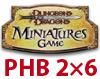 DDM PHB2: HEROES Karton 6 bst - Arcane v3, Divine v2,v3,Martial v3,v4, Primal v2 [425057000]