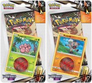 POKEMON: S&M6 Forbidden Light Checklane blister KOMPLET - Exeggcute + Rockruff [POK80424×2]