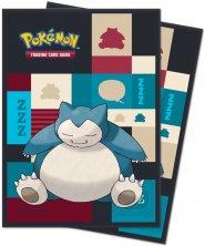 POKEMON: Koszulki na karty do gry SNORLAX (65) [5E-85525]