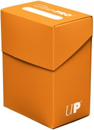 Plastikowe pudełko na karty (Deck Box) PUMPKIN ORANGE [5E-85300]