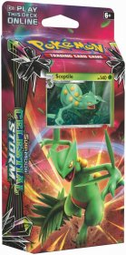 POKEMON: S&M7 Celestial Storm Theme Deck - LEAF CHARGE (Sceptile) [POK80444]