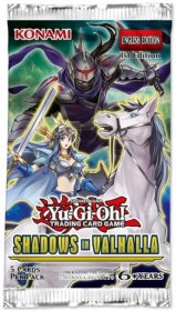 Yu-Gi-OH! TCG: Shadows in Valhalla BOOSTER [YGO64364]