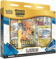 Pokemon TCG: Dragon Majesty LATIOS Pin Collection [POK80368]