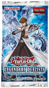 YGO TCG: Legendary Duelists White Dragon Abyss BOOSTER [YGO64530]