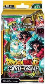Dragon Ball Super SD05 The Crimson Saiyan Starter Deck [DB00794]