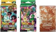 Dragon Ball Super KOMPLET 2 Starter Decków: Guardian of Namekians + Crimson Saiyan + Dash Pack [DB00791+DB00794]