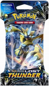 Pokemon TCG: Sun & Moon 8 Lost Thunder SLEEVED booster [POK80456]