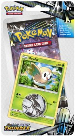 Pokemon TCG: S&M8 Lost Thunder Checklane Blister - ROWLET [POK80458]