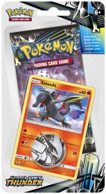 Pokemon TCG: S&M8 Lost Thunder Checklane Blister - SALANDIT [POK80458]
