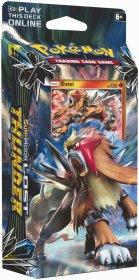Pokemon TCG: Sun & Moon 8 Lost Thunder Theme Deck - BLAZING VOLCANO (Entei) [POK80461]