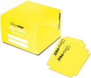 Pudełko na karty (Deck Box) PRO DUAL Standard ŻÓŁTE [5E-84692]