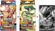 Dragon Ball SCG KOMPLET 2 Starter Decków: Resurrected Fusion + Shenron's Advent + Dash Pack [DB03120+DB03123]