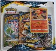 Pokemon TCG: S&M10 Unbroken Bonds 3PK blister - TYPHLOSION [POK80549]