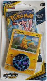 Pokemon TCG: S&M10 Unbroken Bonds Checklane Blister - PIKACHU [POK80550]