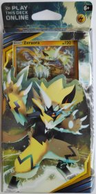 Pokemon TCG: S&M10 Unbroken Bonds Theme Deck - LIGHTNING LOOP (Zeraora) [POK80554]