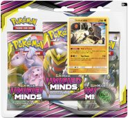 Pokemon TCG: S&M11 Unified Minds 3PK blister - STAKATAKA [POK80570]