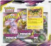 Pokemon TCG: S&M11 Unified Minds 3PK blister - VIKAVOLT [POK80570]