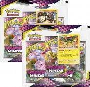 Pokemon TCG: S&M11 Unified Minds 3PK blister - KOMPLET Stakataka + Vikavolt [POK80570×2]