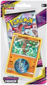 Pokemon TCG: S&M11 Unified Minds Checklane Blister - SUDOWOODO [POK80571]