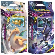 Pokemon TCG: S&M11 Unified Minds Theme Deck - KOMPLET Laser Focus (Necrozma) + Soaring Storm (Dragonite) [POK80575×2]
