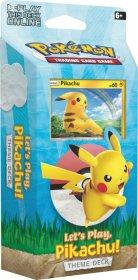 Pokemon TCG: Let's Play Theme Deck - PIKACHU [POK80615]