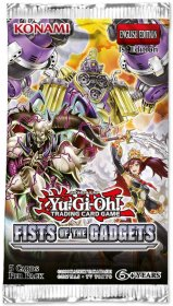 Yu-Gi-OH! TCG: Fists of the Gadgets BOOSTER [YGO74199]