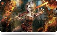 MAGIC play mata War of the Spark Alternate Art - NAHIRI [5E-18165]