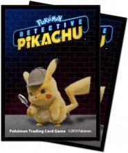 POKEMON: Koszulki na karty do gry Detective Pikachu - PIKACHU (65) [5E-15201]