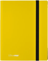 Album na karty 9PKT PRO-Binder Eclipse LEMON YELLOW [5E-15150]