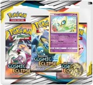 Pokemon TCG: S&M12 Cosmic Eclipse 3PK blister - CELEBI [POK80591]