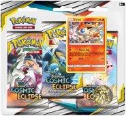 Pokemon TCG: S&M12 Cosmic Eclipse 3PK blister - VICTINI [POK80591]
