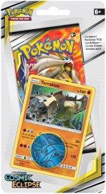 Pokemon TCG: S&M12 Cosmic Eclipse Checklane blister - TERRAKION [POK80592]