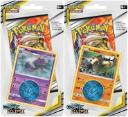 Pokemon TCG: S&M12 Cosmic Eclipse Checklane blister - KOMPLET Mismagius + Terrakion [POK80592×2]