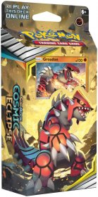 Pokemon TCG: S&M12 Cosmic Eclipse Theme Deck TOWERING HEIGHTS (Groudon) [POK80596]