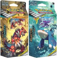 Pokemon TCG: S&M12 Cosmic Eclipse Theme Deck - KOMPLET UNSEEN DEPTHS + TOWERING HEIGHTS (Groudon + Kyogre) [POK80596×2]