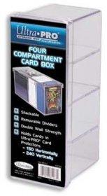 Plastikowe pudełko na karty czteroczęściowe [5E-81163]