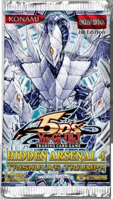 YGO: Yu-Gi-Oh! Hidden Arsenal 4: Trishula's Triumph booster - zestaw dodatkowy Foil (5) [YGO14980]