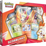 POKEMON TCG: Galar Collection Box SCORBUNNY (ZAMAZENTA) [POK80476]