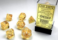 Kostki w kompletach (brick): KRYSZTAŁ - żółty (Yellow/white) (7) [CHX23072]