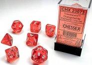 Kostki w kompletach (brick): KRYSZTAŁ - pomarańczowy (Orange/white) (7) [CHX23073]