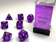 Kostki w kompletach (brick): KRYSZTAŁ - fioletowy (Purple/white) (7) [CHX23077]