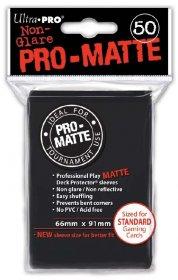 Koszulki Ultra Pro Non-Glare Pro-Matte CZARNE (50) [5E-82728]