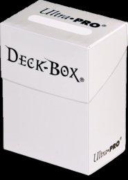 Plastikowe pudełko na karty (Deck Box) BIAŁE [5E-82591]