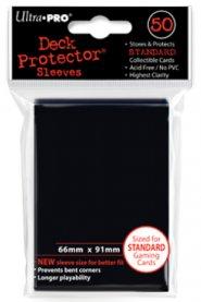 Koszulki Ultra Pro standard CZARNE (50) [5E-82669]