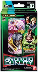 Dragon Ball SCG XD02 Android Duality Expert Deck [DB03249]