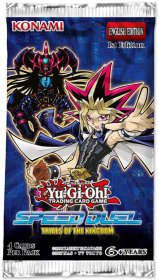 Yu-Gi-OH! TCG: Speed Duel: Trials of the Kingdom BOOSTER [YGO74418]