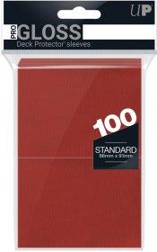Koszulki Ultra Pro standard CZERWONE (100) [5E-82694]