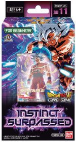 Dragon Ball SCG SD11 Instinct Surpassed Starter Deck [DB03295]