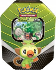 POKEMON TCG: Spring Tin 2020 Galar Partners - RILLABOOM V [POK80678]