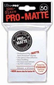 Koszulki Ultra Pro Non-Glare Pro-Matte BIAŁE (50) [5E-82651]